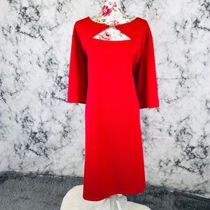 Avenue 30/32 red formal stretchy dress